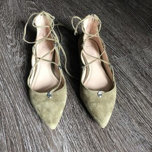 Marc Fisher Shoes - Marc Fisher LTD 'Salia' Ghillie Flat